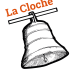 Logo lacloche noir orange blanc 1
