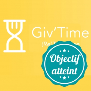 photo profil objectif atteint GiveTime